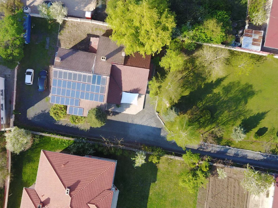 10 kW + 10 kWh off-grid plant at our head office | Bulgaria