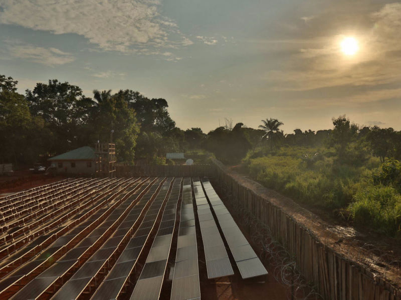 120 kW + 240 kWh off-grid | 6 days, ETC, camp, South Sudan