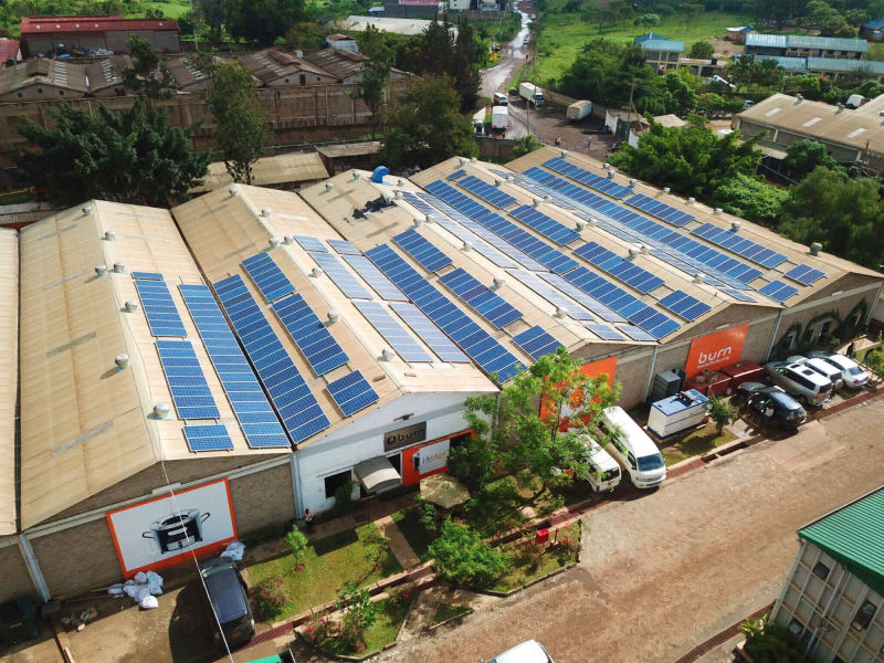 120 kW solar-diesel hybrid plant | 3 days, Acacia Village, hotel, South Sudan
