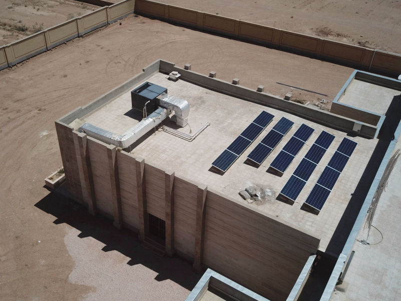 6 kW grid-tied | 0.5 day, Boshruoyeh Municipality, office,  Iran
