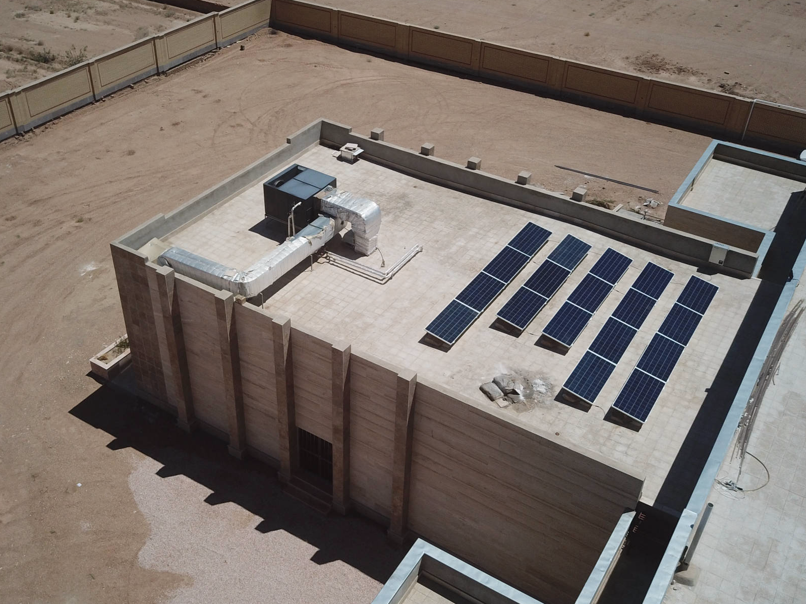720 kW solar-diesel hybrid plant at a factory | Somaliland