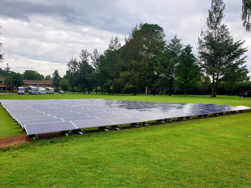 60 kW grid-tied | 3 days, UEA Baraton, university, Kenya