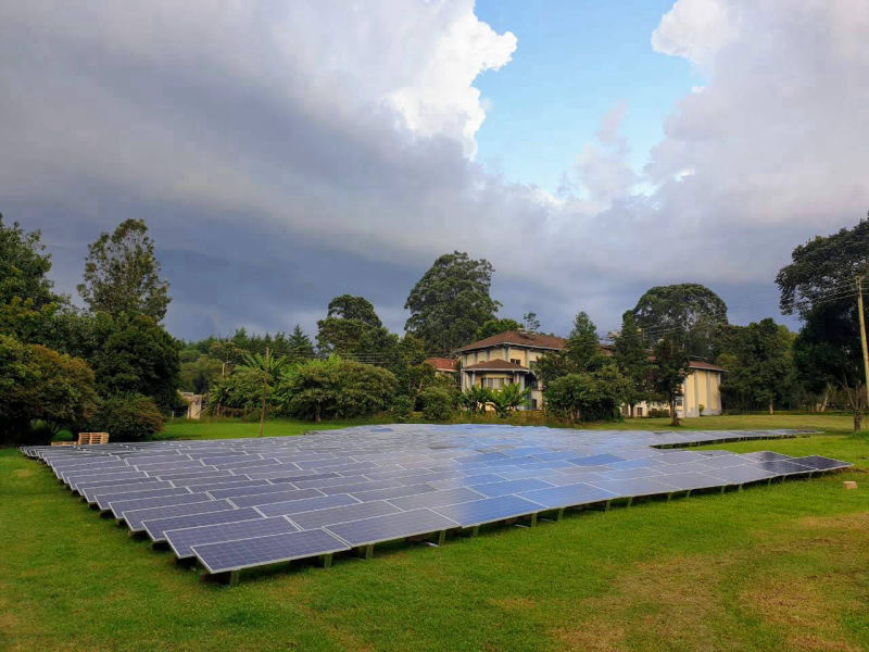 120 kW grid-tied | 3 days, UEA Baraton, university, Kenya